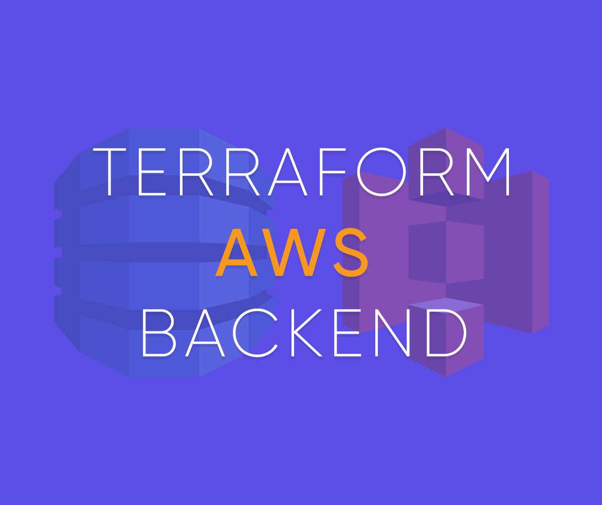 Terraform AWS backend for remote state files with S3 and DynamoDB